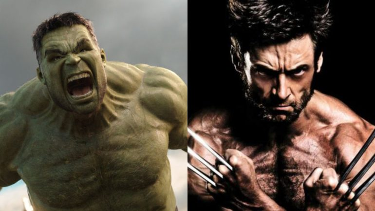 Hulk vs Wolverine Marvel Cinematic Universe MCU