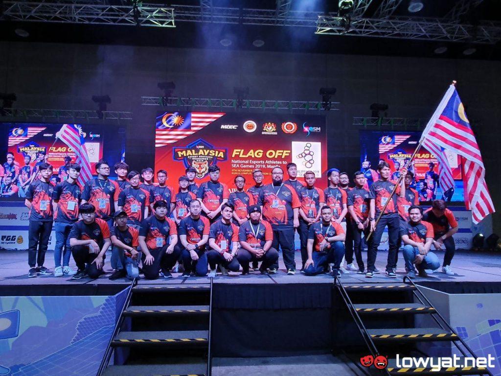 Team Malaysia esports 2019 SEA Games