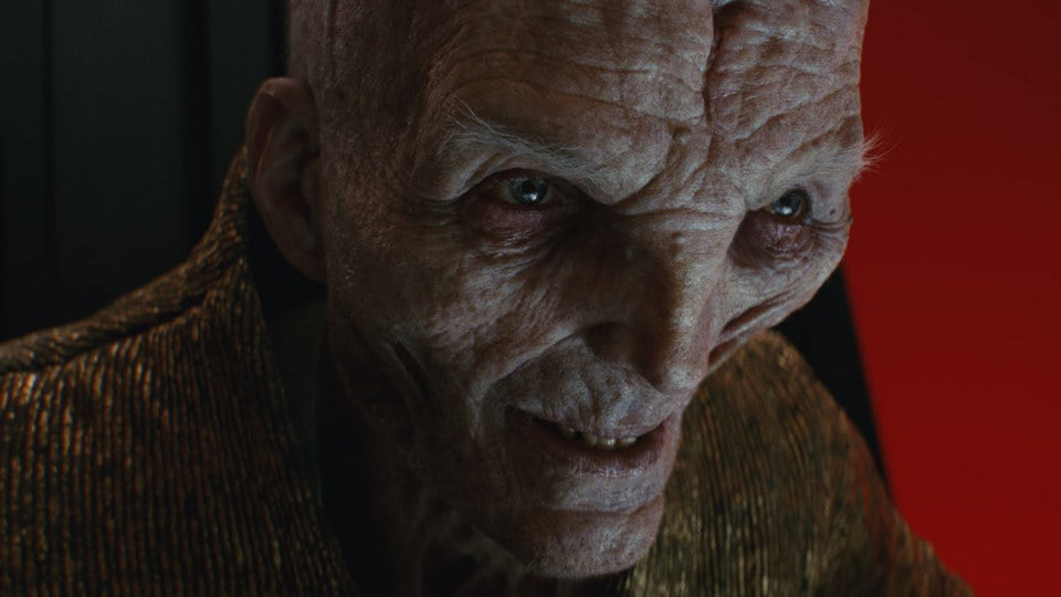 JJ Abrams Supreme Leader Snoke Star Wars