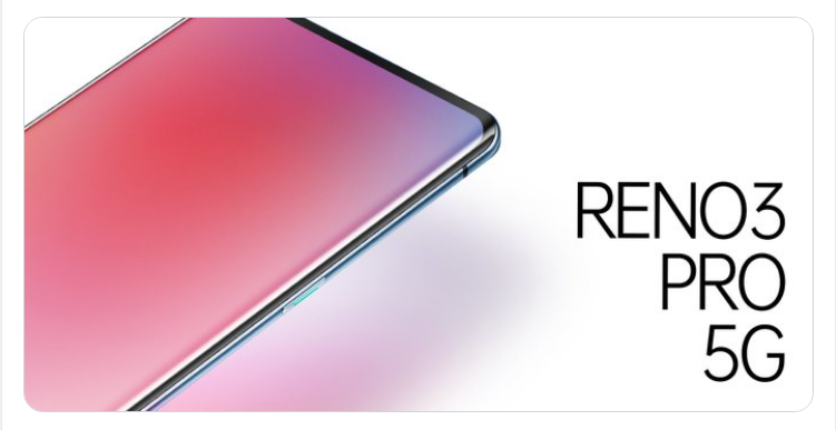 Oppo Reno 3 Pro 5G battery size Announced