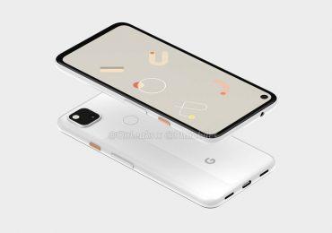 Google Pixel 4a render onleaks