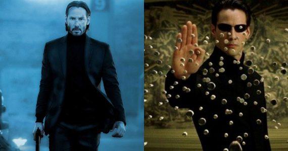 John Wick 4 The Matrix 4 Keanu Reeves