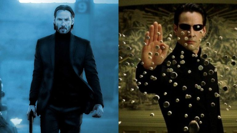 John Wick 4 The Matrix 4 Keanu Reeves