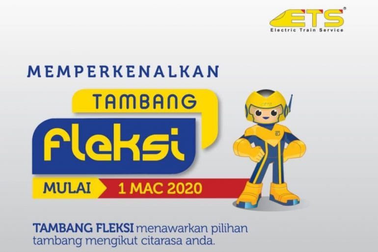 KTMB ETS Flexi Fare