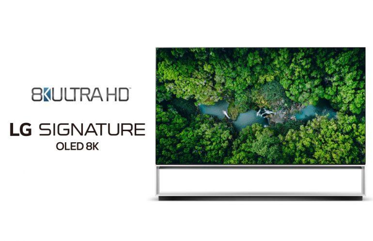 LG 8K UHD certification