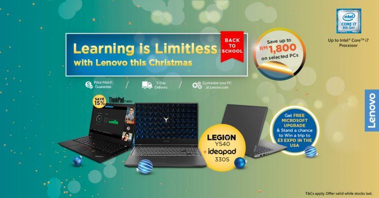 Lenovo Christmas sale 2019