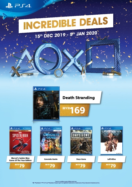 PlayStation Asia physical games deals