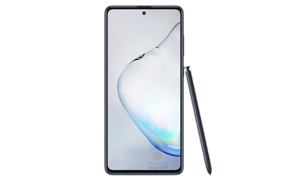 Samsung Galaxy Note 10 Lite front WinFuture