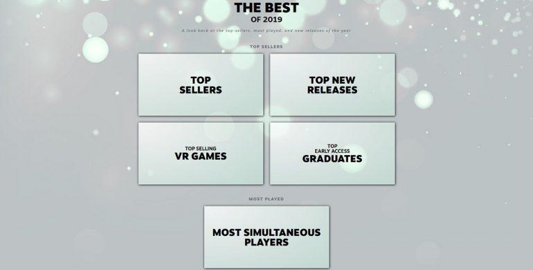 Steam Best of 2019