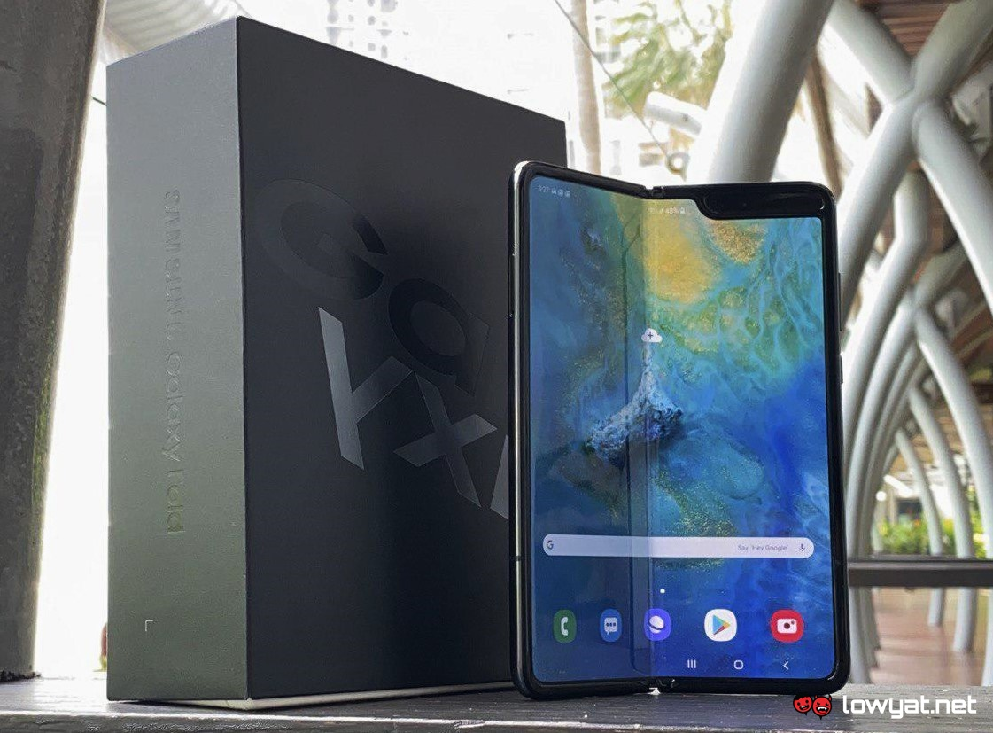 Samsung denies selling 1 million Galaxy Fold smartphones