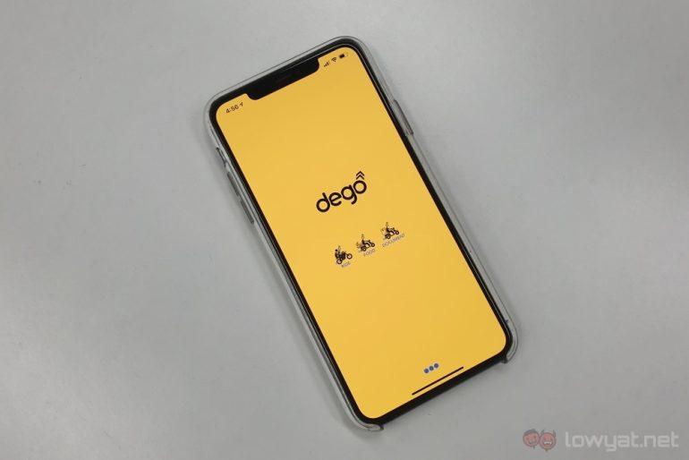 Dego app startup