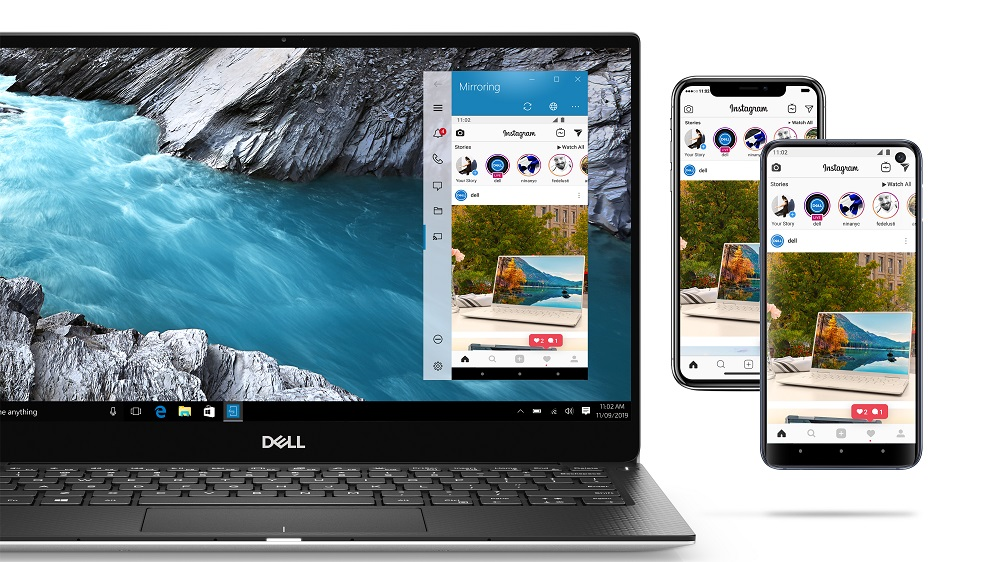 Dell Announces Screen Mirroring and File Transfer Between IOS and Windows