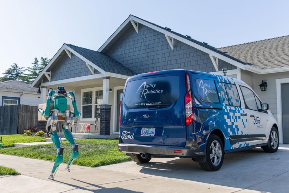 Ford Agility Robotics Digit test