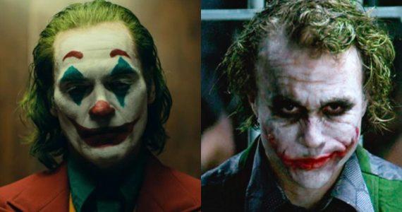 Joker Joaquin Phoenix Heath Ledger