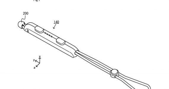 Nintendo Switch strap stylus hybrid