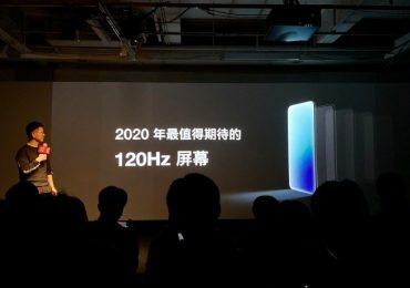 OnePlus 8 120Hz slide