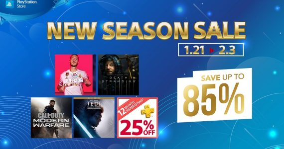 PlayStation Store New Season Sale