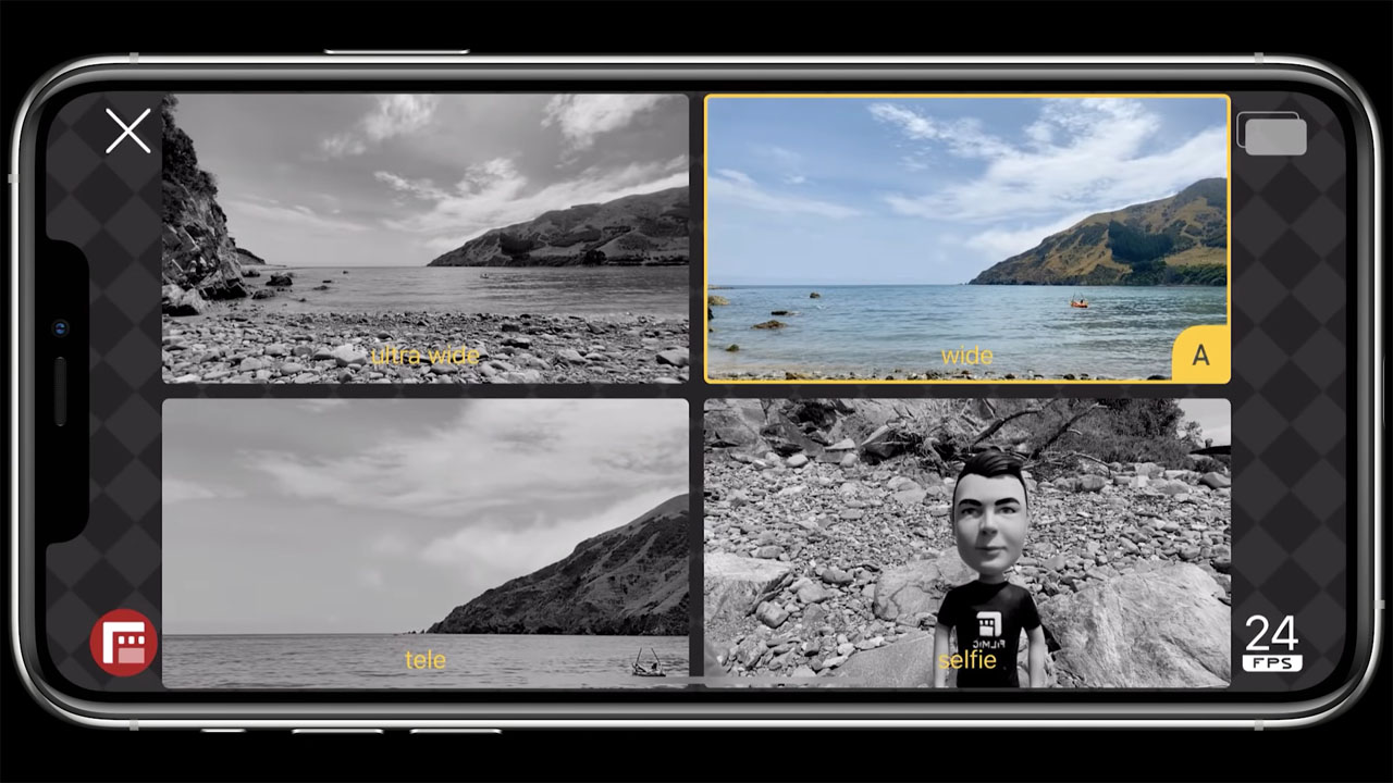 DoubleTake app records from multiple iPhone cameras at once