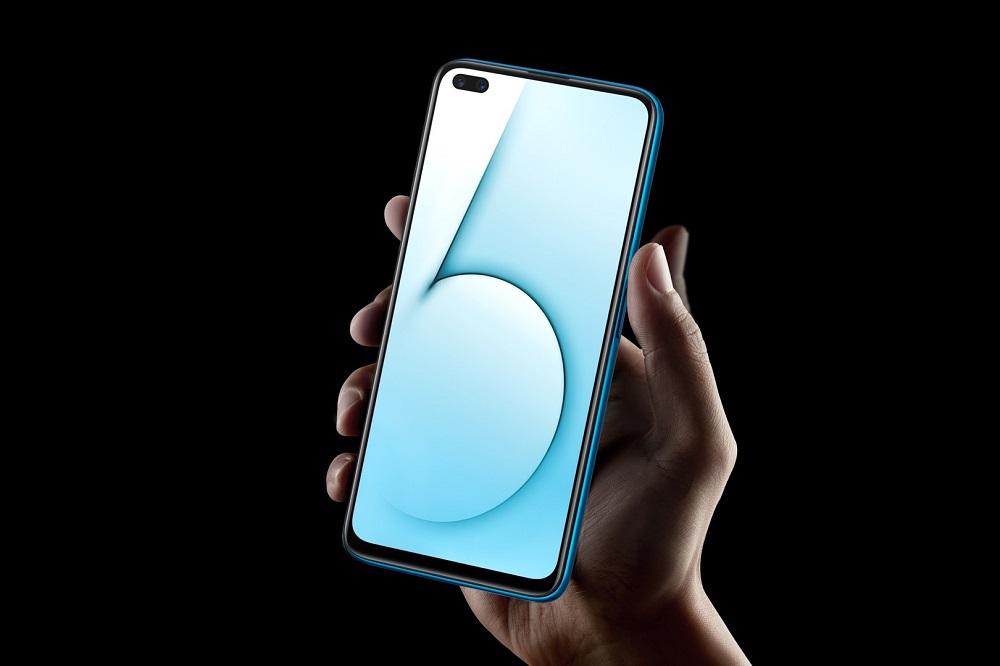 realme X50 5G side fingerprint