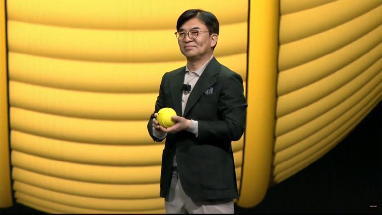 The Adorable And Helpful Robotic Ball — Samsung Ballie