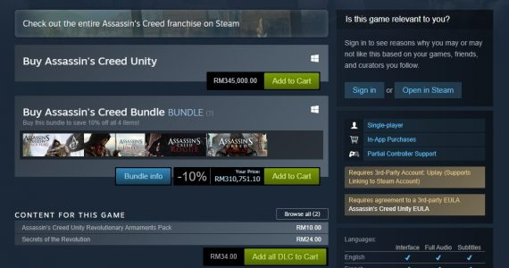 AC Unity Steam price bug 3 - Copy