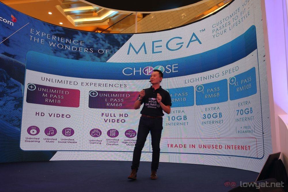 Celcom MEGA postpaid add ons
