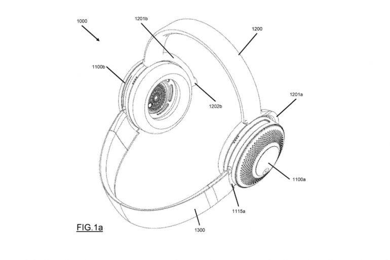 Dyson Headphone air purifier patent