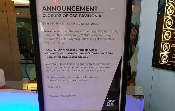 Gsc Pavilion Will Be Permanently Closing Down Soon Updated