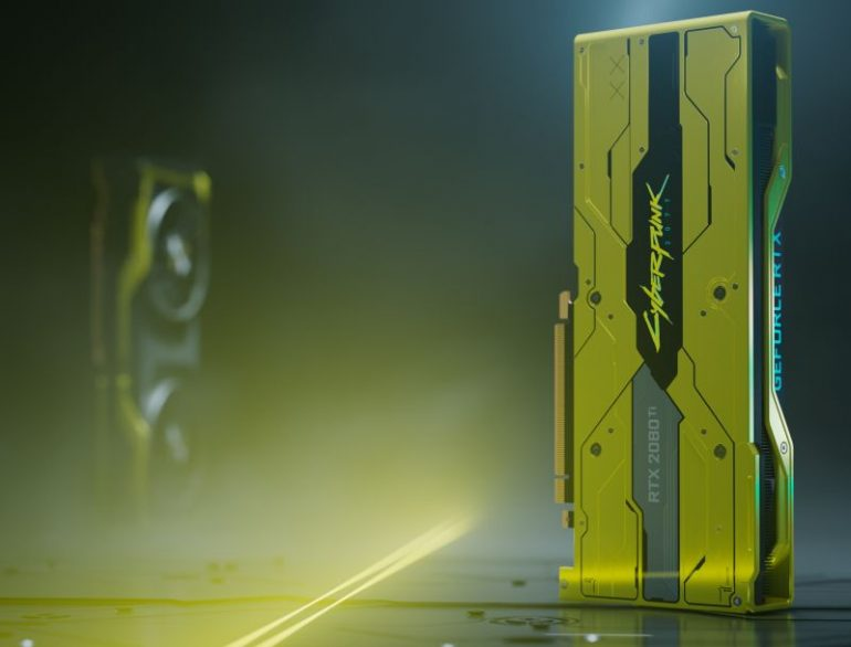 A limited edition Cyberpunk 2077 GPU is in the works from Nvidia