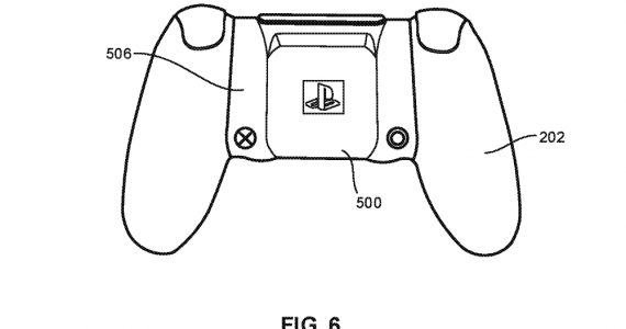 Sony DualShock wireless charging patent
