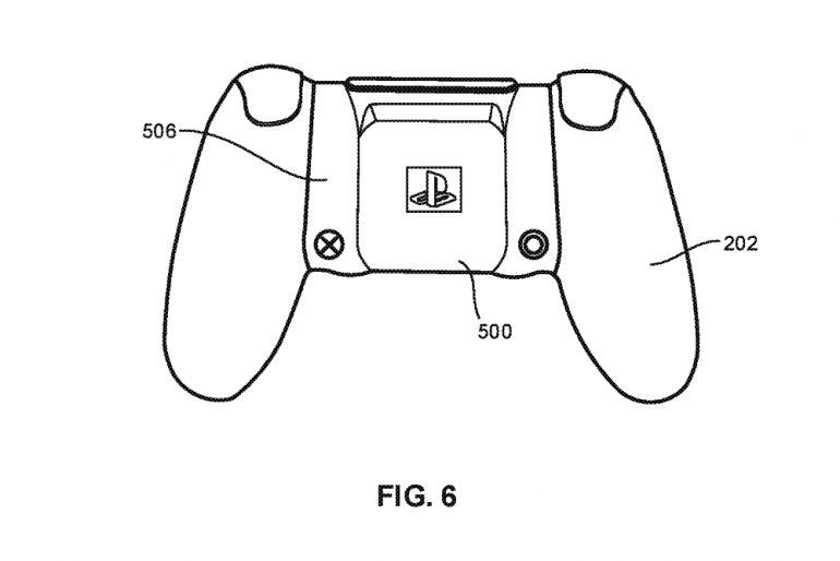 Sony DualShock wireless charging patent