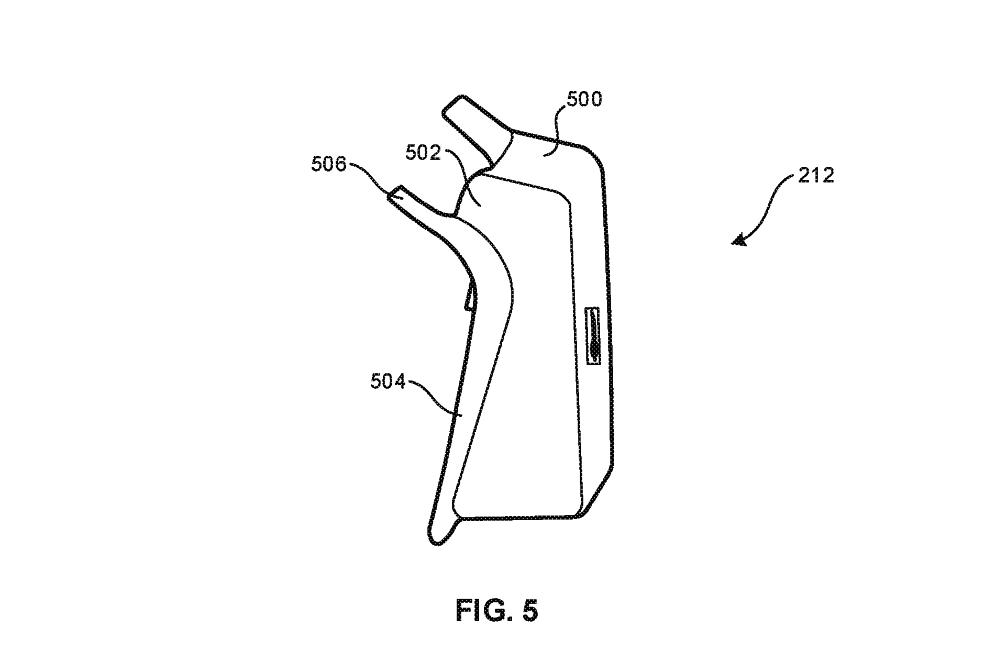 Sony DualShock wireless charging patent side