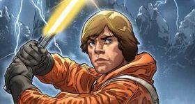 Star Wars Luke Skywalker yellow lightsaber