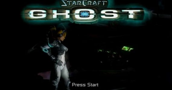 StarCraft Ghost start screen