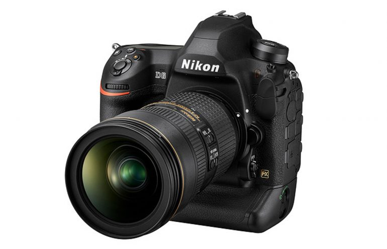 Nikon's D6 flagship DSLR camera arrives in April for $6,500