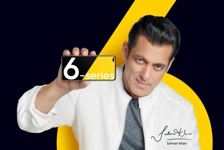 realme 6 Salman Khan