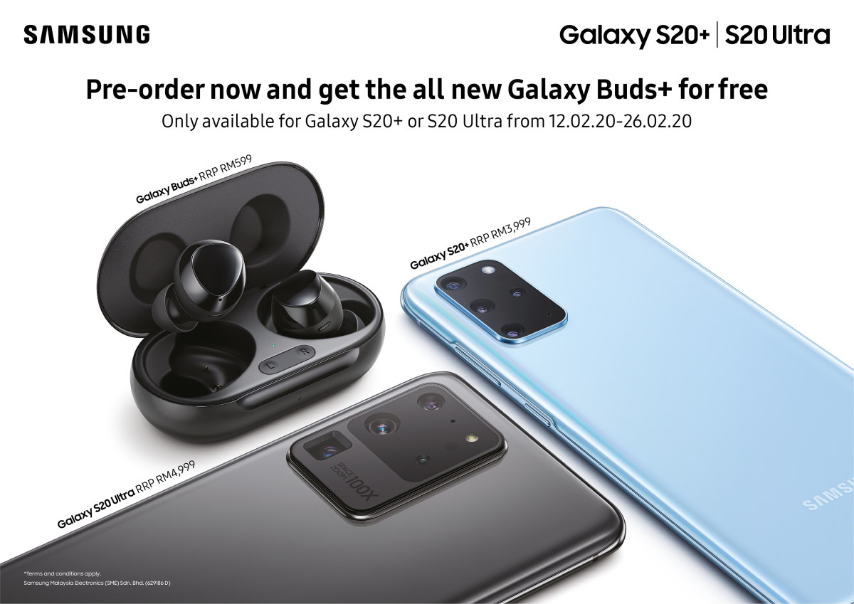 Samsung Galaxy S20 And Galaxy S20 Plus Price In Malaysia To Start At Rm 3599 Lowyat Net