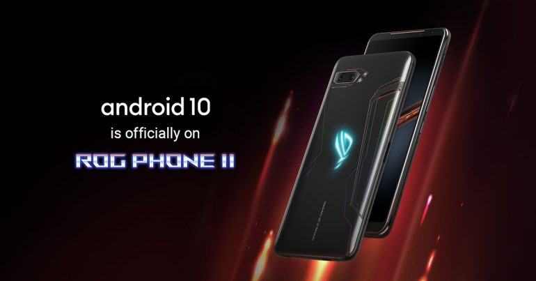 ASUS ROG Phone 2 Android 10