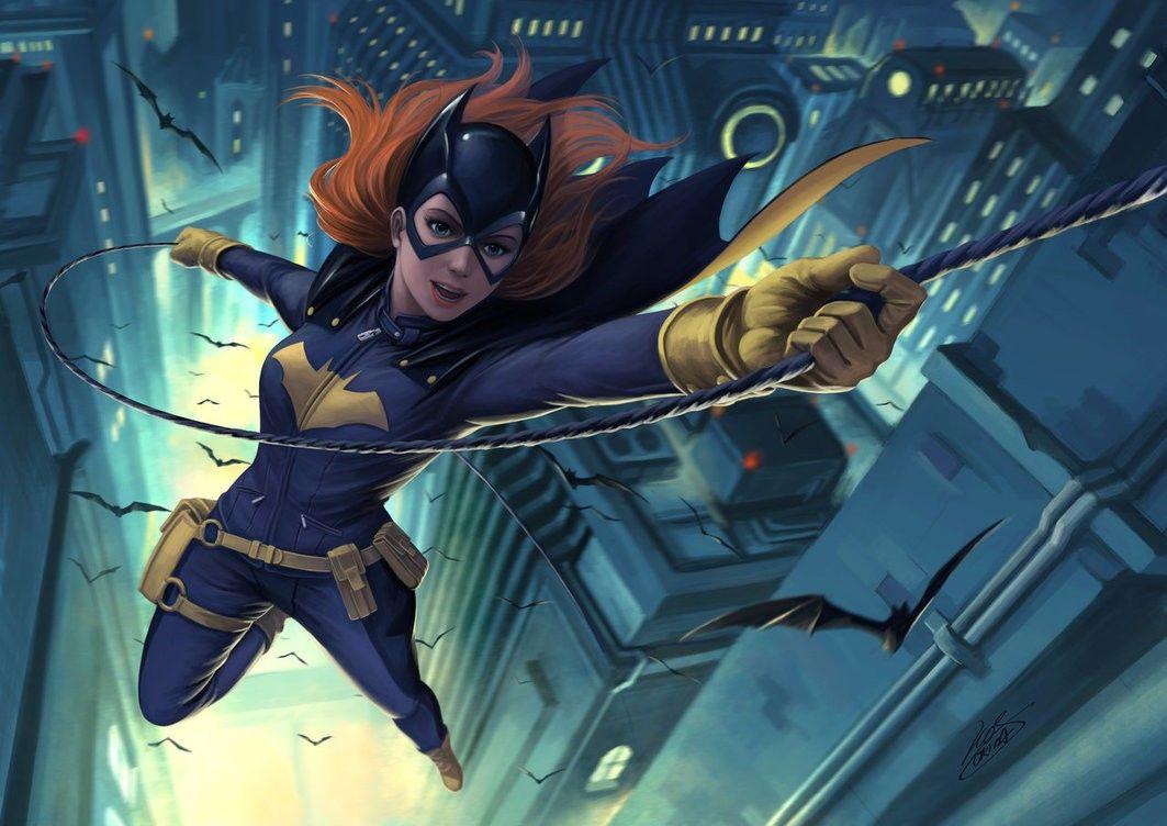 Black Widow Batgirl