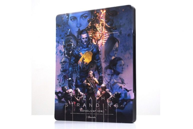 Death Stranding Novelisation Steel Book Edition