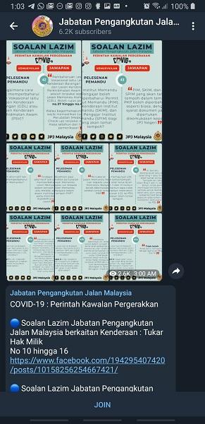 JPJ Telegram