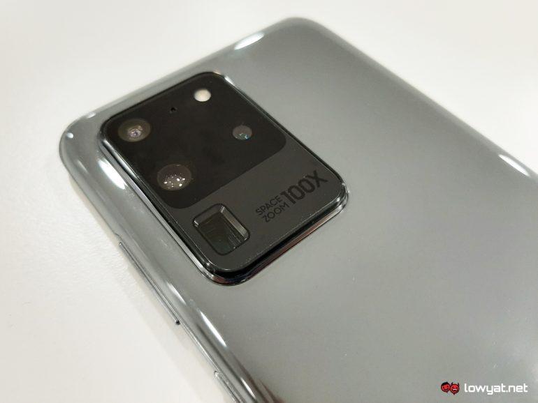 Samsung ISOCELL sensor Galaxy S20 Ultra