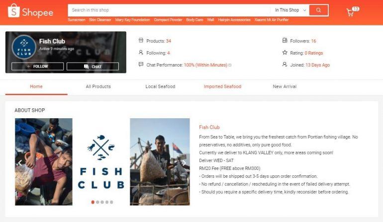 Shopee Fish club