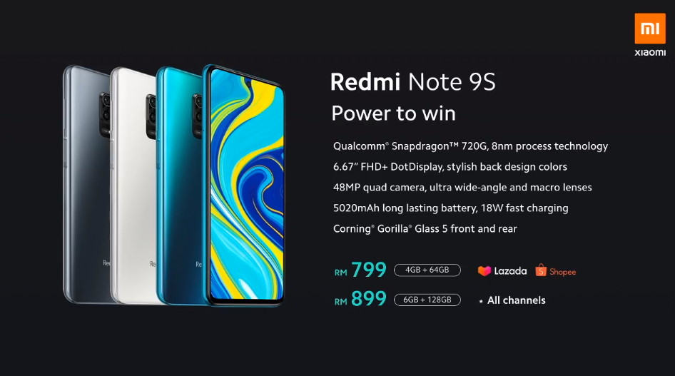 Xiaomi Redmi Note 9S Launched From RM799; RM699 Exclusively On 27 March 5