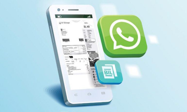 Air Selangor e-billing Whatsapp 1