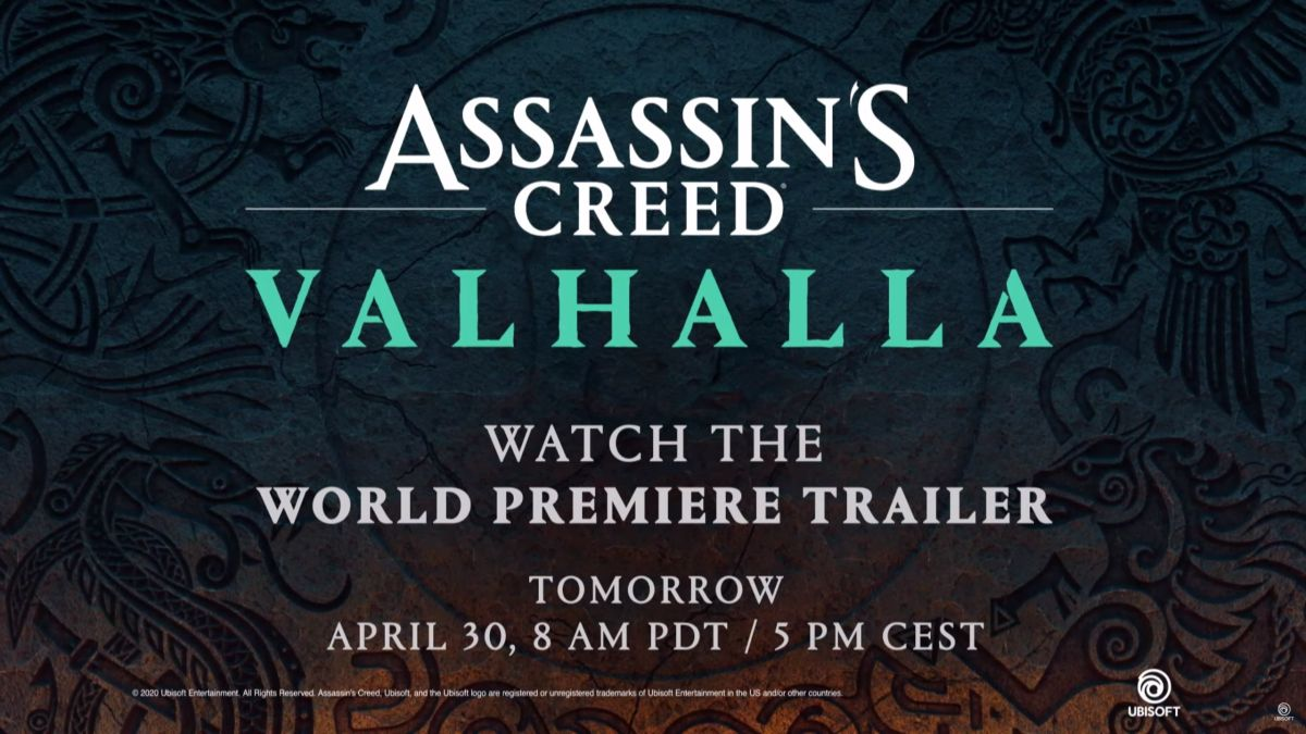 Assassin's Creed Valhalla official trailer