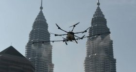 Drone disinfect DBKL
