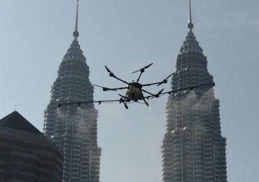 Drone disinfect DBKL