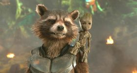 James Gunn Rocket Raccoon