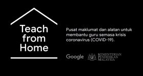 Google Teach from Home hub Malaysia